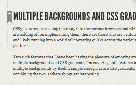 CSS3 Background-Clip and @Font-Face