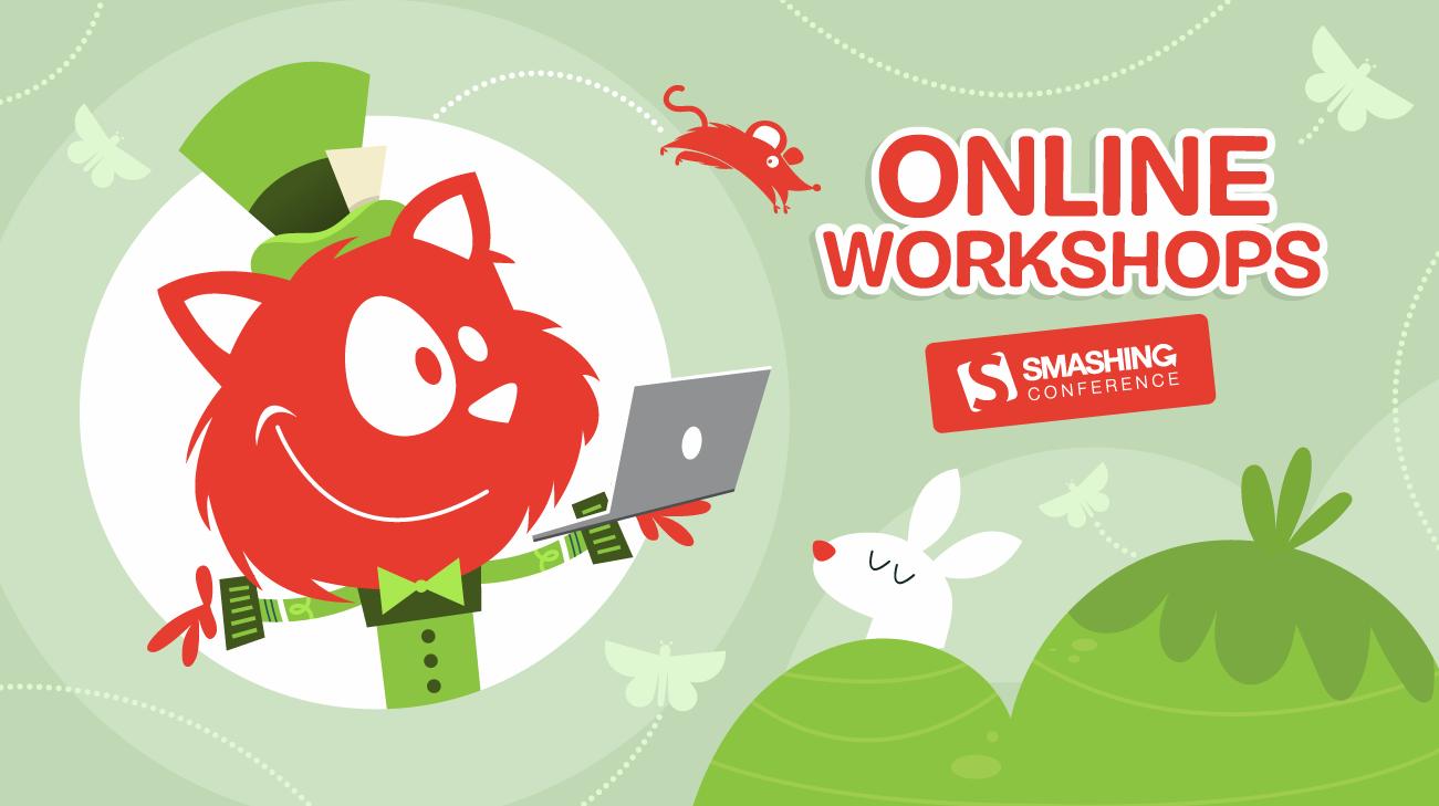 New Live Workshops On Front-End & UX — Smashing Magazine