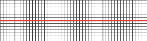 System of coordinates and grid