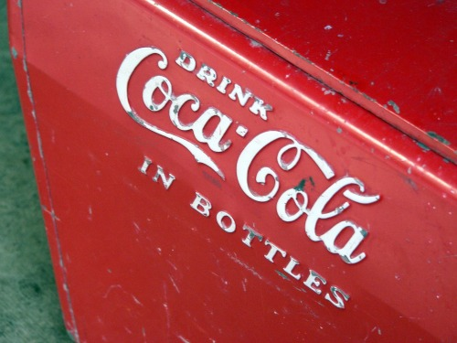 Wayfinding and Typographic Signs - drink-coca-cola-in-bottles