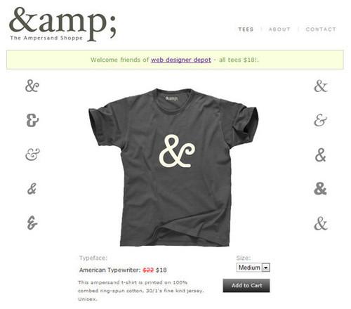 0750616a The Big Showcase Of Online T-Shirt Stores — Smashing Magazine