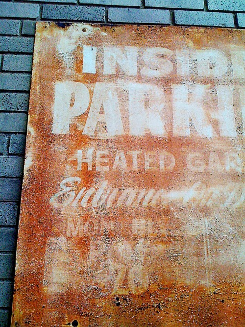 Wayfinding and Typographic Signs - parkinside