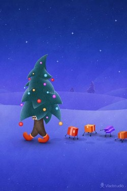 Christmas Wallpapers for iPhone 4S