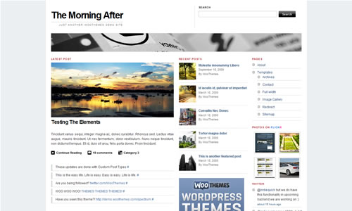 The Morning After Free WP Theme