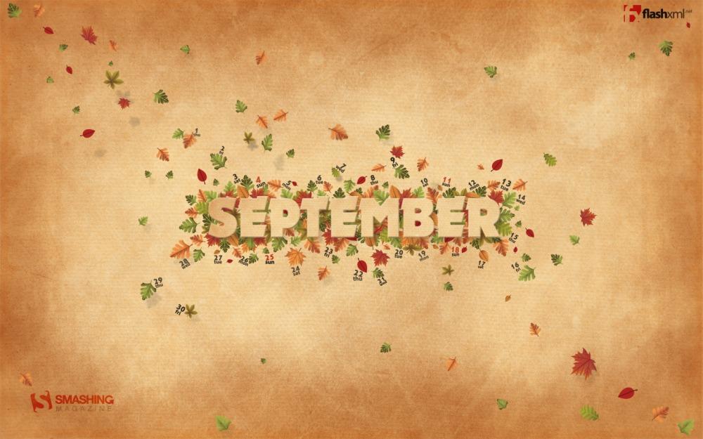 Desktop Wallpaper Calendar September 2011 Smashing Magazine
