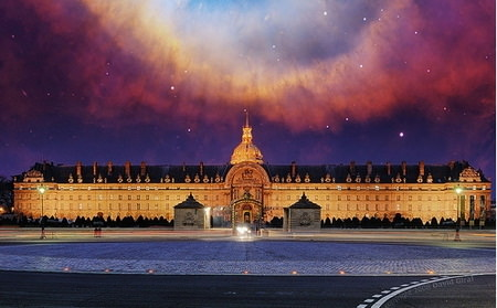 HDR Photos - Helix Nebula Over Paris DRI