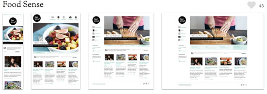 Food Sense - Responsive Web Design