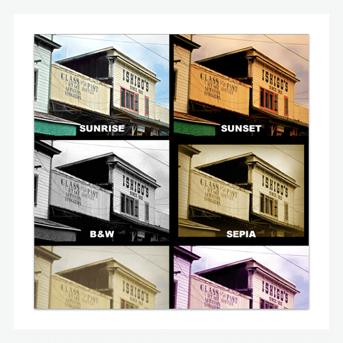 Instant Hipster Photo Styles for Adobe Fireworks