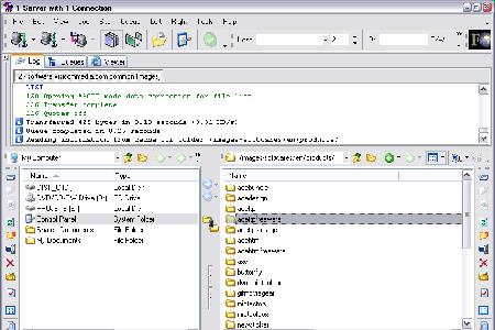 AceFTP Screenshot
