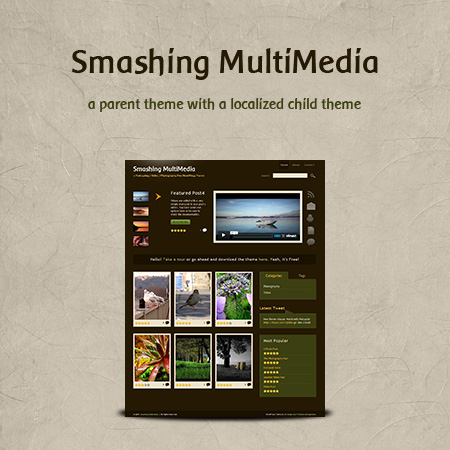 Free Podcasting, Video and Photography WordPress Theme