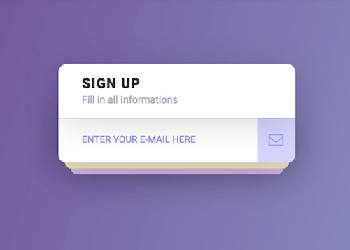 Interactive Sign-Up Form