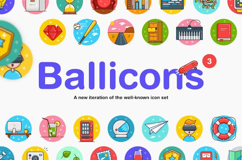Ballicons preview