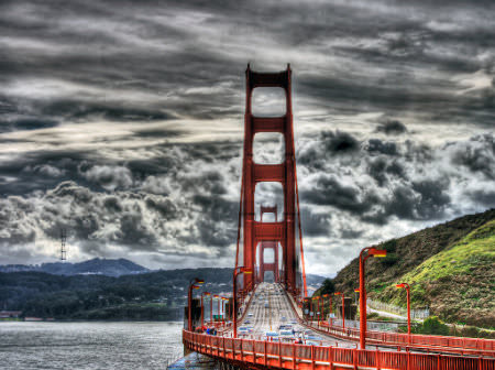 HDR Photos - Golden Gate HDR