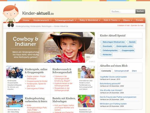 German Web Design - kinderspiele, malvorlagen, kindergeburtstag