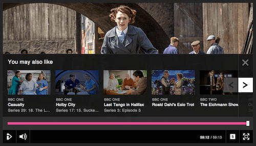 The Standard Media Player plug in for related content