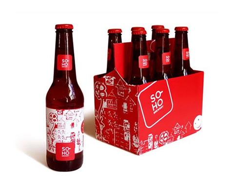 Soho Brewery Packaging