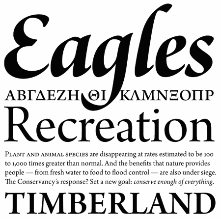 Professional Typefaces - Arno Pro by Robert Slimbach