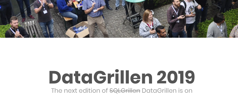 DataGrillen: Data, Bratwurst & Beer
