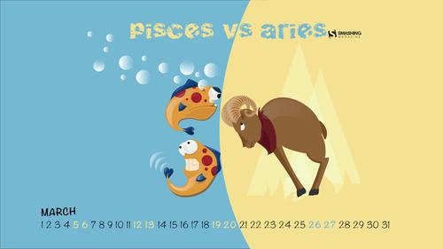Pisces Versus Aries