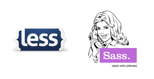 less sass css pre processors