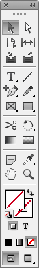 The drawing functionality in InDesign is similar to Illustrator's.