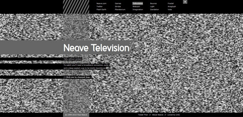 Neave Television in Background Video Showcase