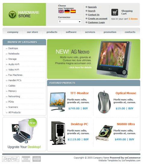 35 Free High-Quality E-Commerce Templates — Smashing Magazine
