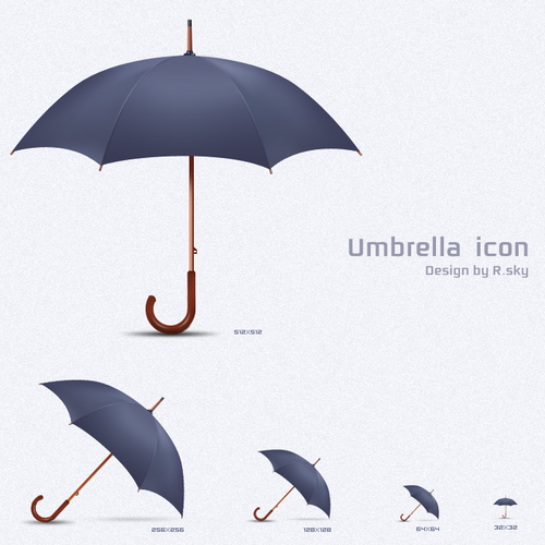 Free Icon Sets - umbrella icon