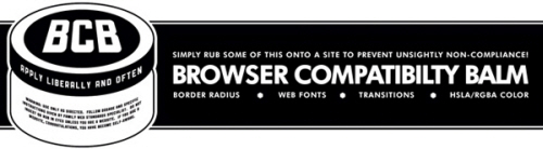 browser compatability balm