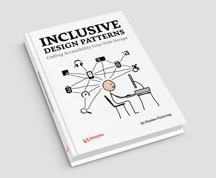 Pre-release: Inclusive Design Patterns written by Heydon Pickering