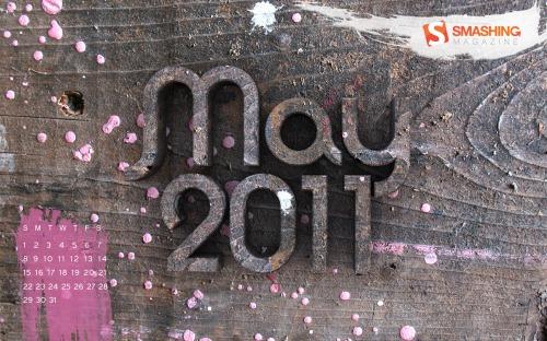Smashing Wallpaper - May 2011