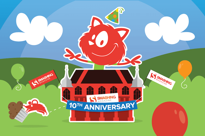 In September this year, we'll be celebrating our 10th anniversary. That's been quite a journey!