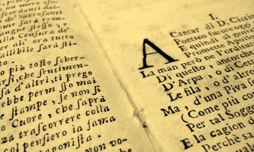 La Cicceide Legitima, spread from the prologue.