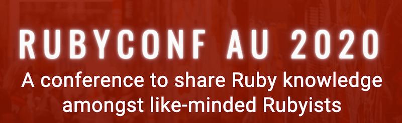 RubyConf AU 2020
