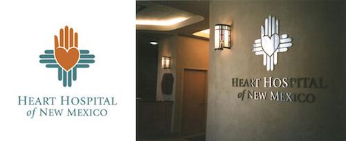 The Heart Hospital of New Mexico's logo.