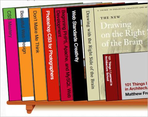 CSS3 Bookshelf