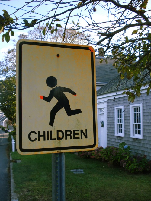 Wayfinding and Typographic Signs - signage-children-rhodeisland