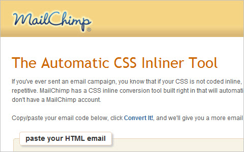 CSS Inliner Tool