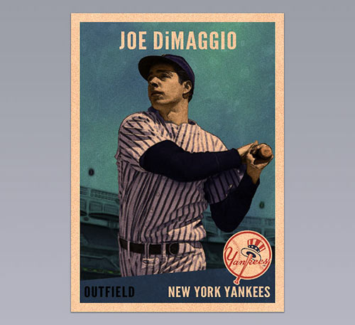 30 Best Movie Baseball Cards Images On Pinterest: 35 Beautiful Retro And Vintage Photoshop Tutorials