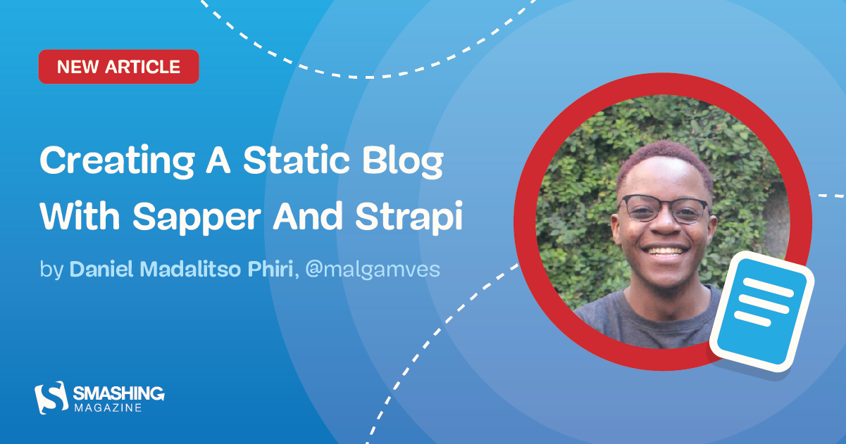 Creating A Static Blog With Sapper And Strapi