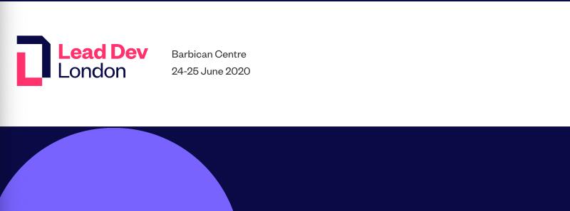 Lead Dev London 2020