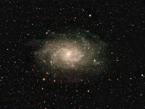 Space Photography - Triangulum galaxy