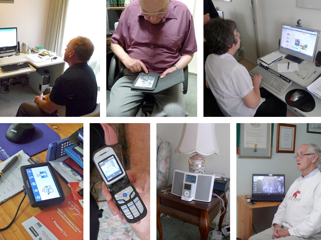 Designing For The Elderly: Ways Older People Use Digital Technology Differently