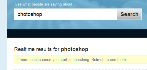 Twitter More Results
