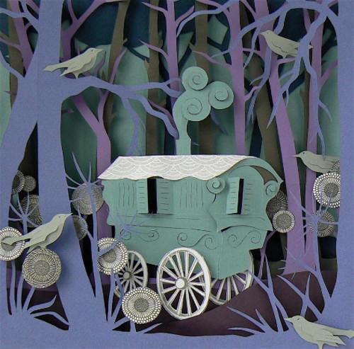 Helen Musselwhite : Romany Caravan