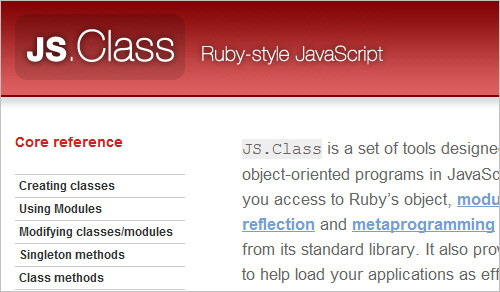 JS.Class: Ruby-style JavaScript