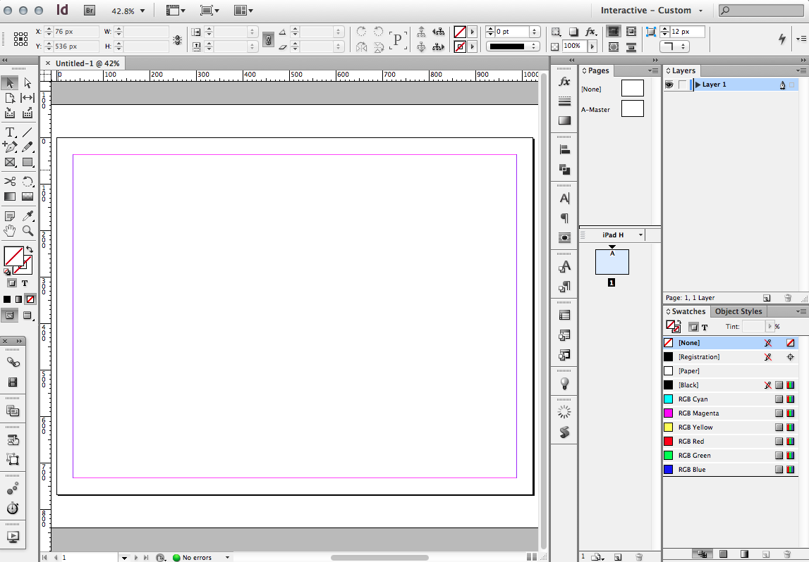 In Design Cs5 | Creating Wireframes And Prototypes With Indesign Smashing Magazine