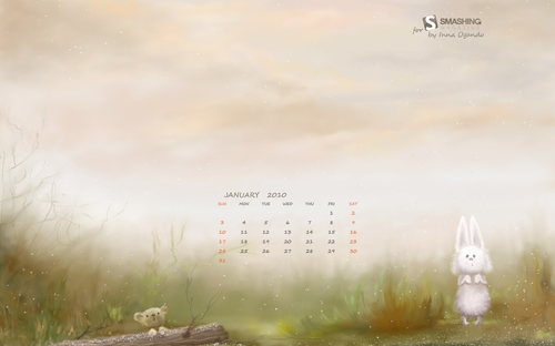 january wallpaper calendar 2016