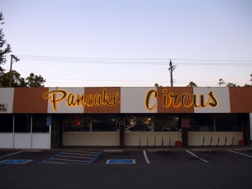 Wayfinding and Typographic Signs - pancake-circus