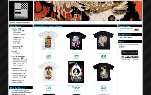The Big Showcase Of Online T-Shirt Stores — Smashing Magazine